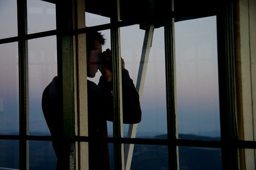 Josh at Gird Point Lookout Tower