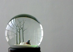 "Trees (Jerzy Durczak (a.k.a."" jurek d."")) Tags: winter art modernart kiasma museumofmodernart installation crystalball 1on1 thecontinuum jurekd"
