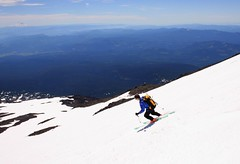 Beautiful (Beauty Discovered) Tags: summer snow ski washington mt skiing adams mtadams