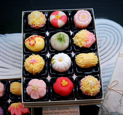 Too Beautiful to Eat? (moriza) Tags: food cute dessert japanese store newjersey colorful 100v10f supermarket mo shelf packaging snacks mitsuwa mohammad edgewater moriza riza modomatic