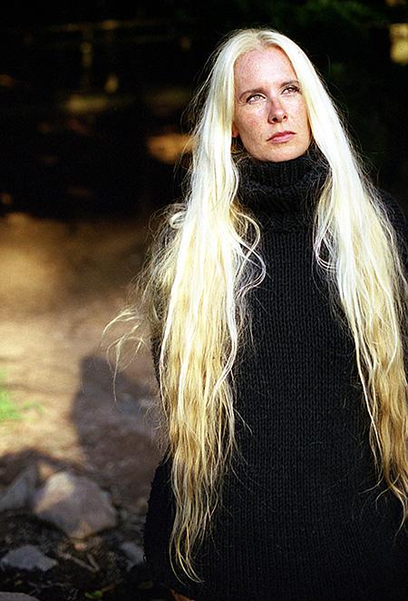 Long hair for mature women