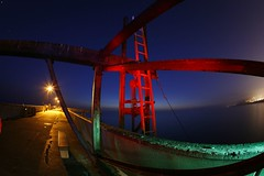 Pacifica pier (4PIZON) Tags: california longexposure nightphotography lightpainting color night canon colorful paintingwithlight pacifica pacificcoast pacificapier top20longexposure 4pizon