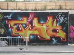Tish PNC (Tatty Seaside Town) Tags: graffiti brighton graf production piece tish pnc newenglandquarter july2006 sleepinggiants stationsite tattyseasidetown tish76