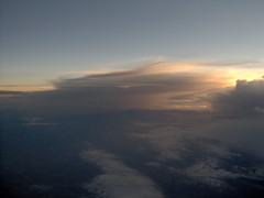 Evening Mood Above the Clouds (monika & manfred) Tags: sunset plane colorful sweden mm cloudscapes upintheair utataview