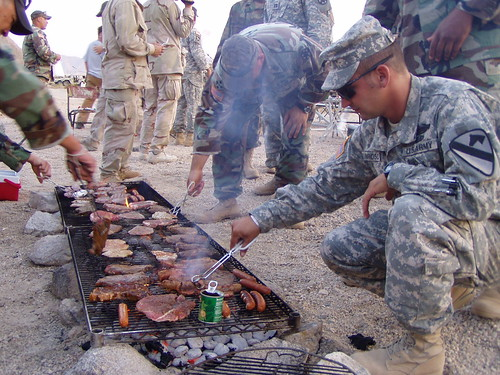 OCs Having a BBQ