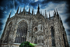 Dark Duomo (Stuck in Customs) Tags: world travel light italy milan castle art church beautiful architecture dark geotagged photography photo nikon colorful pretty italia catholic dynamic cathedral ominous milano gorgeous religion gothic d2x dream churches chapel fresh divine spire professional adventure holy international photograph stunning duomo charming ornate foreign fabulous technique domus hdr tutorial dei trey marktwain intricate artisitic tracery lombardy lucisart engaging travelphotography ratcliff rayonnant nikonstunninggallery d2xs hdrtutorial stuckincustoms imagekind geo:lat=4546429356031786 geo:lon=9191321736348963 treyratcliff focuspocus stuckincustomsgooglescreensaver curtissimmons