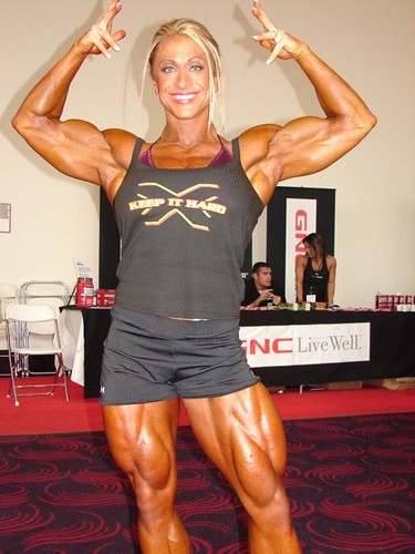 Female bodybuilding Articles