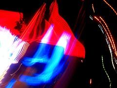 drift on inn (sophiacreek (again)) Tags: blue beautiful night wow catchycolors wonder rouge drive washington neon shine zoom availablelight great driveby 123 bleu nightlight blurr stg carwindow 1on1 thecontinuum mnfg 123nl
