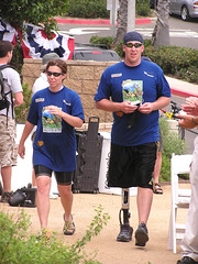 P7290201a (Joanie-21) Tags: ocean california travel people beach america soldier hope cycling support military wounded joy injury patriotic celebration event american triumph soldiers joanie strength heroes patriots sanclemente patriotism healing challenge troops injured challenging perseverance courage determination humanspirit laughingrhinophotos laughingrhino joaniedg soldierride woundedwarriors coasttocoastbicycleride soldiersangels