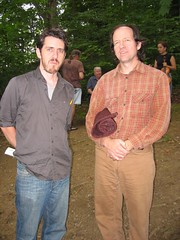 Eamon O'Leary and....someone (Braider) Tags: irish festival augusta elkins