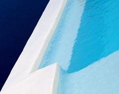 Pool 2 (SeenyaRita) Tags: blue minimal swimmingpool greece minimalism braceletdesigns braceletchoices