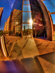 Reflections of Copley Square - by wili_hybrid