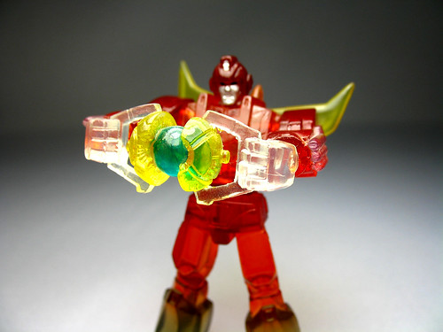 Takara Rodimus Prime with Matrix (Lava Chase)
