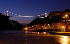 Clifton Suspension Bridge (Joe Dunckley) Tags: uk england water night bristol bridges rivers gorges cliftonsuspensionbridge riveravon ikb avongorge suspensionbridges hotwells