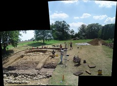 excavation pano1 (wickenpedia) Tags: panorama archaeology wicken wwwwickenarchaeologyorguk
