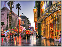 hollywood and hdr rock (Kris Kros) Tags: show california ca light usa cinema color colour reflection tree wet public car rock cali night photoshop stars evening la us losangeles interestingness cool interesting nikon shiny pix theater boulevard shine nightshot traffic cs2 theatre walk budget live fame gap 15 ps el palm billboard business entertainment socal coche palmtree hollywood kris jaguar walkoffame elcapitan hdr blvd washingtonmutual tvguide capitan showbiz wetlook showbusiness elcapitantheatre 3xp hollywoodstars elcapitantheater photomatix 435 pscs2 kros starwalk kriskros exploretop20 kk2k hollywoodrocks hollywoodcolors hollywoodcolours