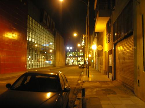 Guardia Vieja à noite