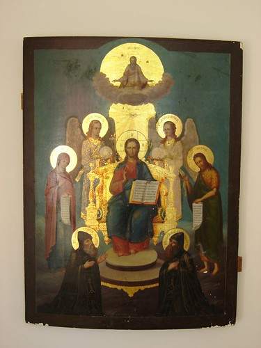Icon from the orthodox nunnery of Lintula