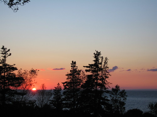 Bay of Fundy sunset by ekpatterson, on Flickr