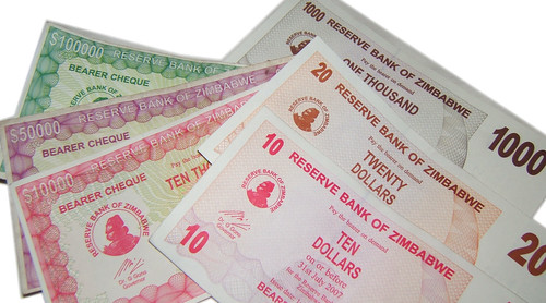 Zimbabwe's 'funny money': old and new currency