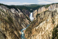 Grand Canyon of the Yellowstone (Robby Edwards) Tags: vacation water river waterfall nationalpark canyon yellowstonenationalpark yellowstone wyoming lowerfalls yellowstoneriver artistpoint grandcanyonoftheyellowstone specland