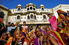 Gangaur festival (mystiquecreation) Tags: travel people india monument festival rajasthan udaipur abigfave lpfestasiapacific