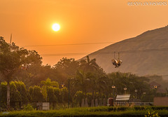 Stay calm and enjoy the view... (Renji's SnapShots) Tags: malampuzhadam malampuzha palakkad kerala keralatourism india incredibleindia sunset ropeway outdoor landscape nature travel photography photograph sky serene