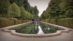 Vert.. (Harleynik Rides Again.) Tags: vert garden pond lake ornimental mason domainedetrevarez britagne harleynikridesagain