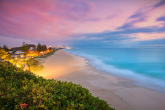 Miami Beach To Surfers || GOLD COAST DAWN || QUEENSLAND (rhyspope) Tags: australia aussie cld queensland gold coast miami rhys pope rhyspope canon 5d mkii beach dawn sunrise sunset le long exposure sea ocean marine water travel sky clouds weather