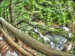 Wide angle HDR falls (74prof) Tags: wideangle hdr video falls