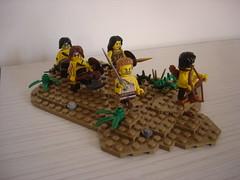 Barbarians-3 (fdsm0376) Tags: castle barbarian lego moc minifigures heroic fantasy