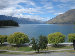 Lake Wakatipu (View from hotel room)