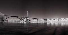 HighBridgeCondos (brnpttmn) Tags: city bridge urban autostit
