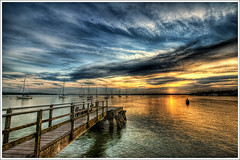 137/365 - HDR - Poole.Hamworthy.Sunset.@.1200x800 (Pawel Tomaszewicz) Tags: uk sunset wallpaper england sky cloud beach colors beautiful clouds photoshop canon eos bay pier photo sand europe view angle image photos harbour jetty wide picture wideangle ps images x dorset 1200 800 molo hdr poole fable hdri anglia iphone soce pawel zachd soca cs3 ipad neatimage chmury 3xp photomatix greatphotographers wyspa hamworthy buoyant zatoka wyspy 1200x800 artofimages bestcapturesaoi tomaszewicz paweltomaszewicz