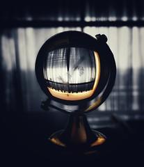 Golden Globe (MelisaTG) Tags: stilllife monochrome blackwhite arnhem objects closeupphotography splittone mobilephotography powercam smartphonephotography snapseed