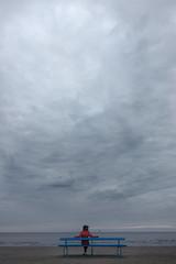 The beach of Jurmala, Latvia (grzegorz_wdowiak) Tags: autumn sunset sky beach water clouds dark seaside sand europe cloudy baltic latvia september easterneurope balticstates jurmala latvija 2015 balticstate majori jrmala otwa a6000 sonya6000 jurmaa