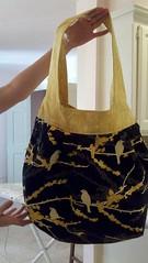 Amy Butler Birdie Sling Bag (indigoquilter) Tags: handbag amybutler handmadebag birdieslingbag