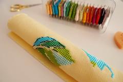 Bird Talk cross stitch (katarishko) Tags: crossstitch needlework handmade embroidery pointdecroix floss threads bordado broderie pontocruz xstitch 手芸 ricamo 刺繍 クロスステッチ kreuzstich etamin ハンドメイド evenweave 针线活 刺し子 kanavice carpiisi 바늘질