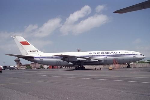 CCCP-86076 Ilyushin IL-86 Aeroflot