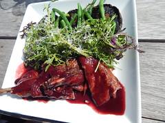 Pinot Duck (KiwiCharlotte - Insta charli_kalaki) Tags: food duck salad foodporn