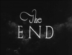 the end (annacarvergay) Tags: theend font namethatfilm unnamed