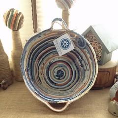 "Large Egg Basket #0745 • <a style=""font-size:0.8em;"" href=""http://www.flickr.com/photos/54958436@N05/21272032086/"" target=""_blank"">View on Flickr</a>"
