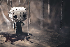 We have such cute sights to show you. (3rd-Rate Photography) Tags: canon toy actionfigure 50mm florida smoke vinyl pop horror jacksonville 365 pinhead funko hellraiser clivebarker toyphotography 5dmarkiii earlware 3rdratephotography