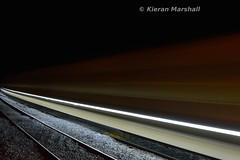 HOBS at Portarlington, 3/10/15 (hurricanemk1c) Tags: irish train rail railway trains nightphoto railways irishrail hobs portarlington 2015 iarnród éireann iarnródéireann autoballaster highoutputballastsystem