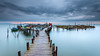 Dubay of Wood (CResende) Tags: wood longexposure sunset motion color portugal water rain pier sticks mood time path carrasqueira d800 connections 1635 visitportugal cresende