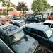 Coleção de Land Rovers