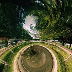 Return 2 nature (ecemozer1) Tags: park trees summer sky color tree green nature beautiful beauty way walking photography spring flickr planet today mothernature tinyplanet flickrturkey iphonerography