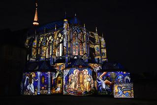 Chartres en Lumières 2015 - Église Saint-Pierre