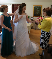 Getting the bride ready (Donald Morrison) Tags: wedding northernireland inverness habost drumossiehotel nessbankchurch freechurchofscotlandcontinuing
