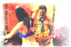 The Texas Chainsaw Massacre (RK*Pictures) Tags: classic face movie toy actionfigure death 1974 saw pain blood mask massacre leatherface victim fear knife chainsaw meat tragedy psycho gore cult horror teenager bloody hook bizarre diorama brutal maniac cannibals meathook cruel mcfarlane horrorfilm mcfarlanetoys humanskin moviemaniacs gunnarhansen tobehooper thetexaschainsawmassacre slasherfilm familyofcannibals